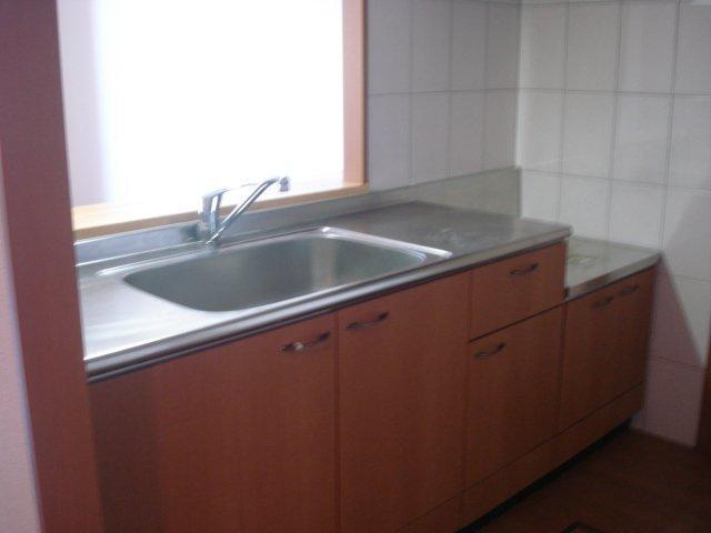 ビューテラス 203号室のキッチン