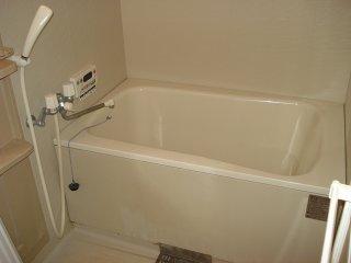 ビューテラス 203号室の風呂