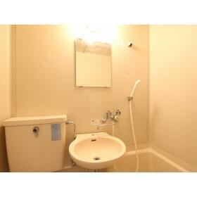 プラザドゥディーンA 407号室の洗面所