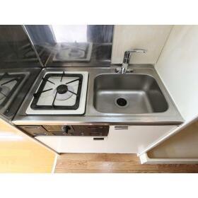 プラザドゥディーンA 407号室のキッチン