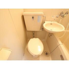 プラザドゥディーンA 407号室のトイレ