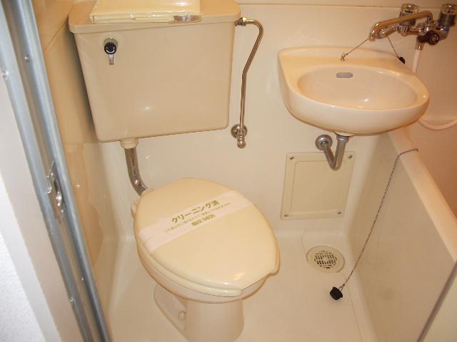 ハイツノン 205号室のトイレ