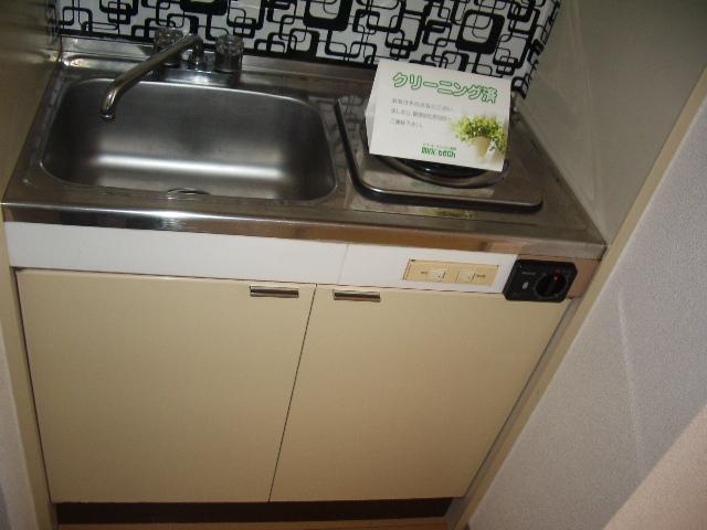 ハイツノン 205号室のキッチン