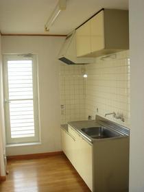 レジエA 201号室のキッチン