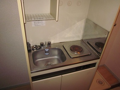 アメニティさくら B棟 B-202号室のキッチン
