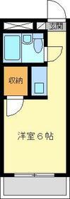 金沢八景相川ビル・404号室の間取り