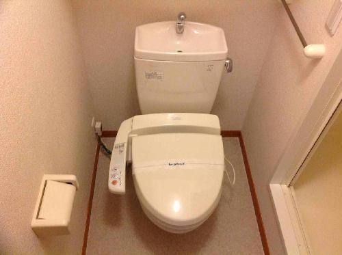 レオパレスフロスモア 201号室のトイレ