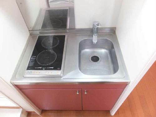 レオパレスフローラ 212号室のキッチン