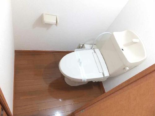 レオパレスフローラ 212号室のトイレ