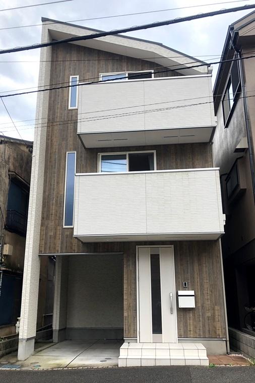 上野町戸建の外観