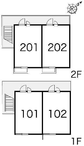 レオパレスフロスモア 102号室のその他