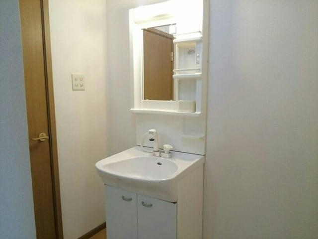 コスモス LF 02010号室の洗面所