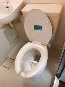 グリーンハウス 101号室のトイレ