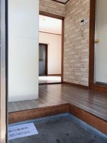 グリーンハウス 101号室の玄関