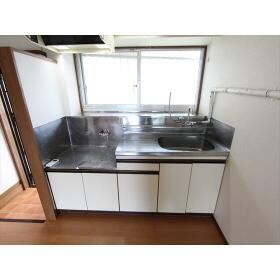 第1宮城荘 205号室のキッチン