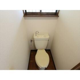 第1宮城荘 205号室のトイレ