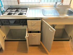 ファミールハイム 201号室のキッチン