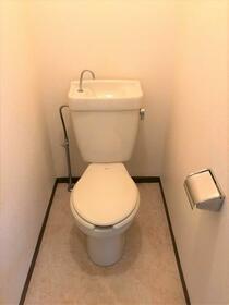 ファミールハイム 201号室のトイレ
