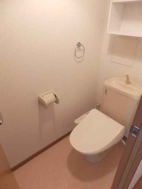 アビタシオン駅南A 105号室のトイレ