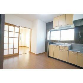 ハイツアーデル 201号室のキッチン