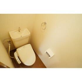 ハイツアーデル 201号室のトイレ