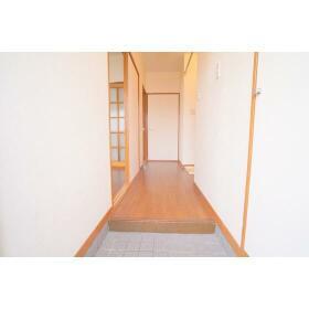 ハイツアーデル 201号室の玄関