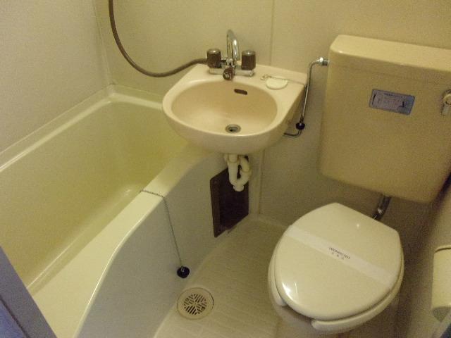 ハイネス相模大野 202号室の風呂