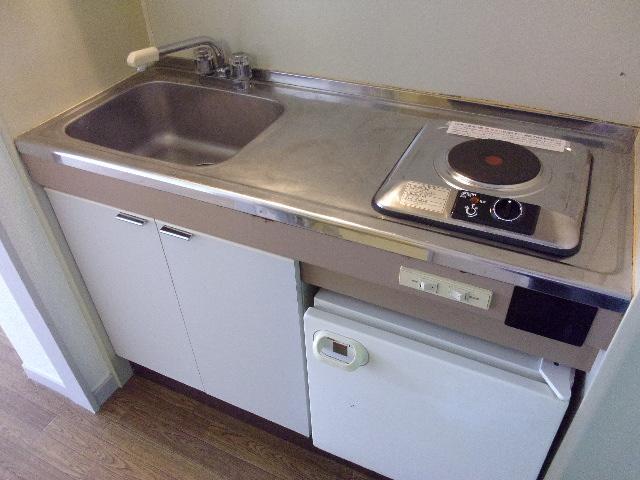 ハイネス相模大野 202号室のキッチン