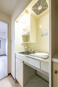 ジュネパレス座間第14 0302号室のキッチン