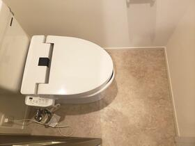 シャルム月見台 104号室のトイレ