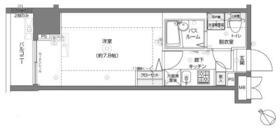 フェニックス横浜関内BAY MARKS・405号室の間取り