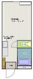 サンコーポ内田・213号室の間取り