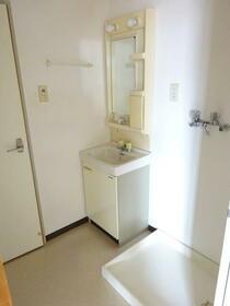 ハイムスワン 303号室の洗面所