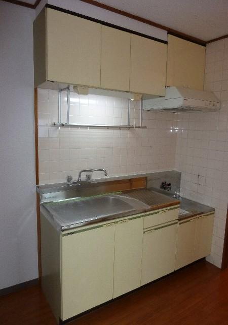 コーポ小野 201号室のキッチン