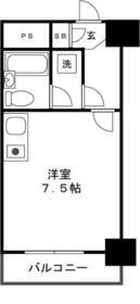 ライオンズマンション相模原第三・902号室の間取り