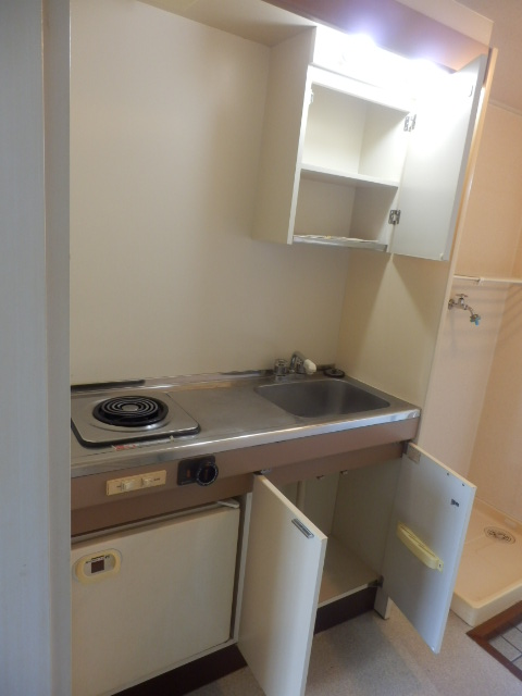 富士見ハイツ 402号室のキッチン