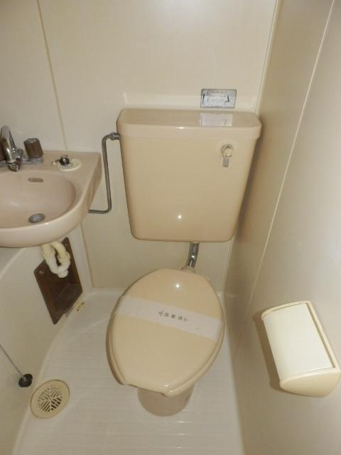 富士見ハイツ 402号室のトイレ