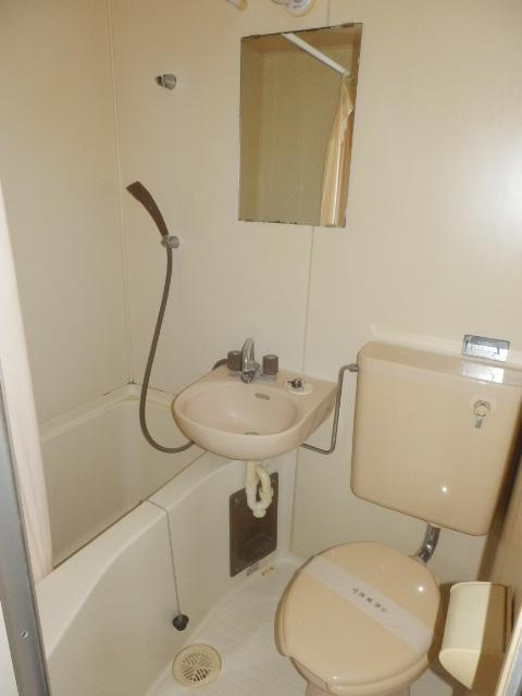 富士見ハイツ 402号室の洗面所