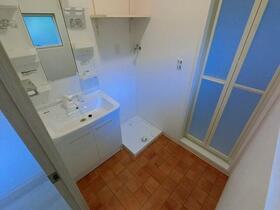 レンターハウス 2号室の洗面所