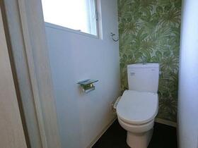 レンターハウス 2号室のトイレ