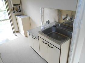 ジュネス新百合B 203号室のキッチン