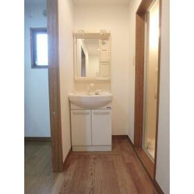 メゾンヨーワ 1-B号室の洗面所