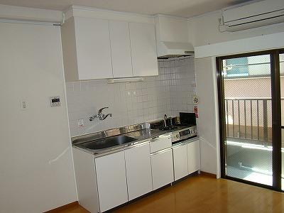 インターフェイス壱番館 201号室のキッチン