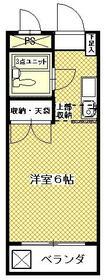 ドエルARAI・103号室の間取り