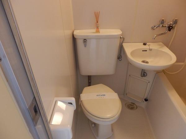 ブランシェ百合ヶ丘 102号室のトイレ