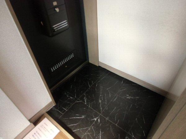 リオ・グランデ 201号室の玄関