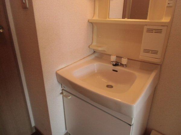 リオ・グランデ 201号室の洗面所