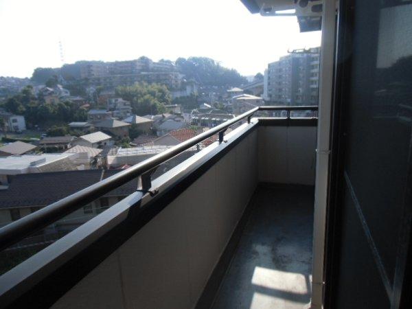 リオ・グランデ 201号室のバルコニー