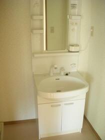 ウインディアM5号棟 21号室の洗面所