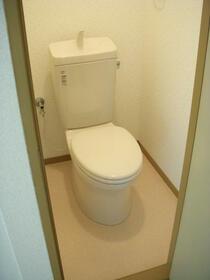ウインディアM5号棟 21号室のトイレ